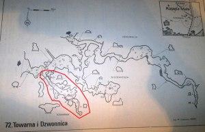 jaskinia towarna kusieta mapa